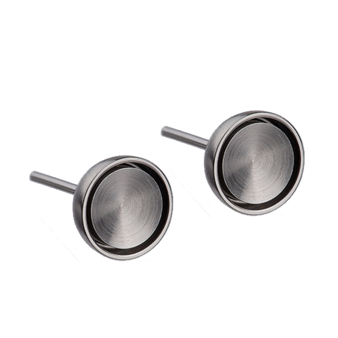 Ernstes Design Silver Earrings (small)
