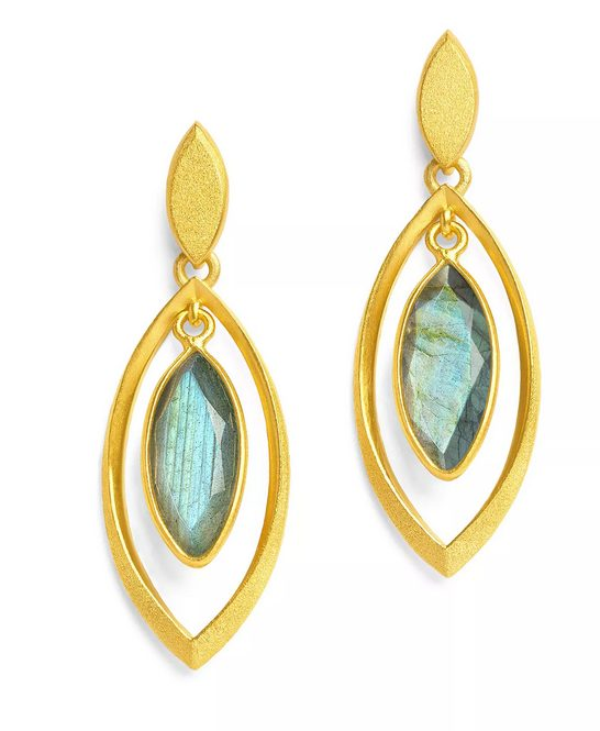 Bernd Wolf Marquisi Collection dangle Earrings
