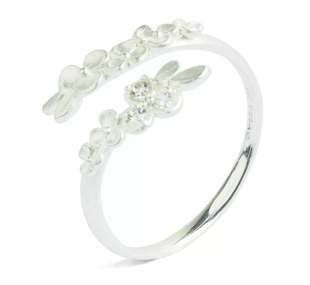Bernd Wolf Melia Collection Flower shaped Ring