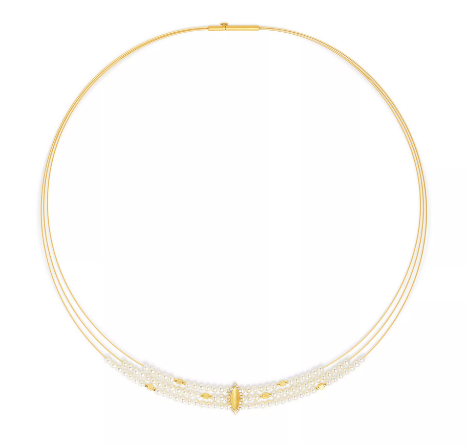 Bernd Wolf Navina Collection Pearl Necklace