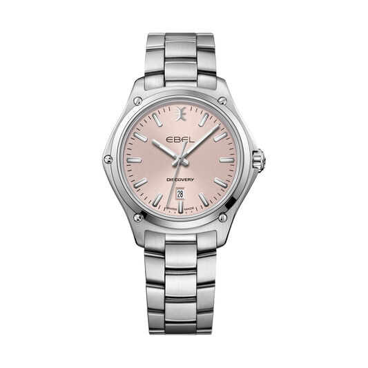 Discovery Lady Wristwatch in stainless steel