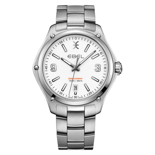 EBEL Discovery Wristwatch in Stainless Steel