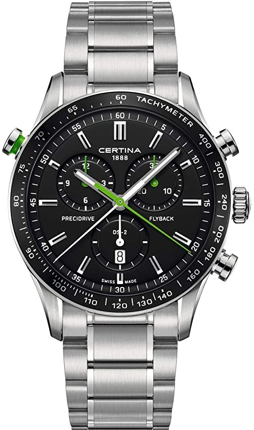 Certina DS-2 Men's Flyback Chronograph Wristwatch