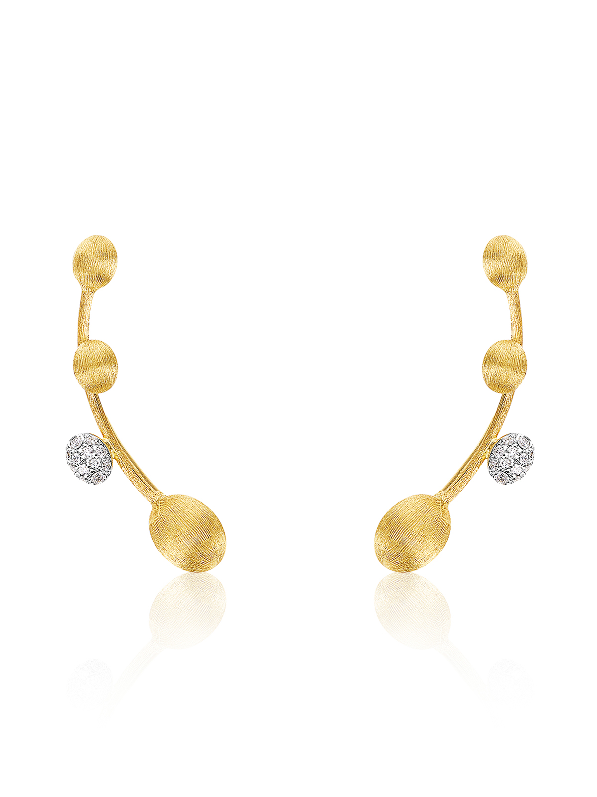 Dancing Elite collection cuff earrings